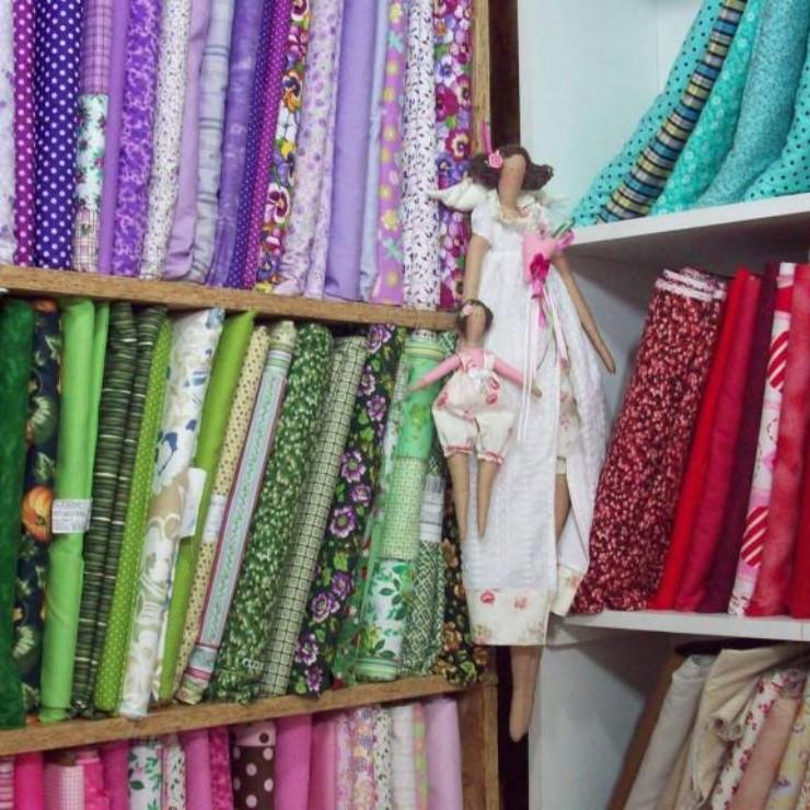 Tecidos para artesanato