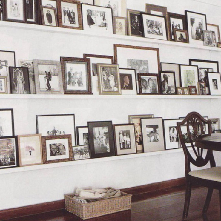 fotos nas paredes