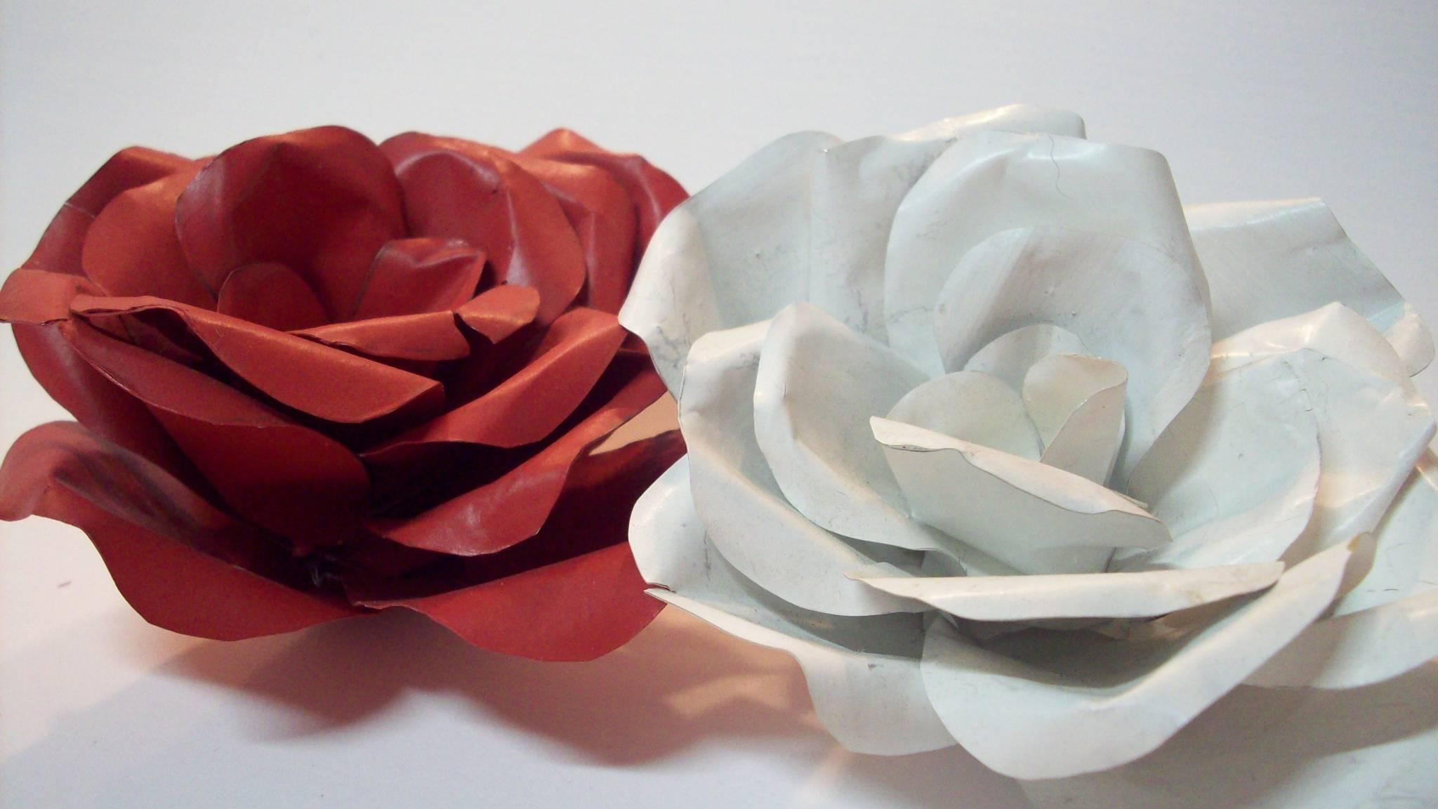 Flores De Lata Detalhes M Gicos -> Modelos De Papel De Parede Em Forma De Flores