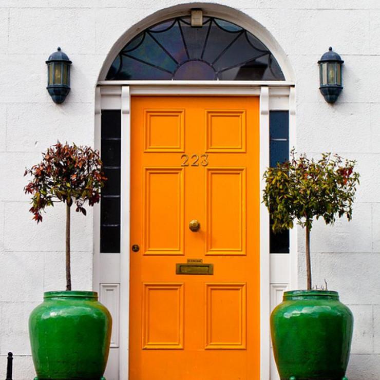 Cor laranja na decoração-blog detalhes magicos