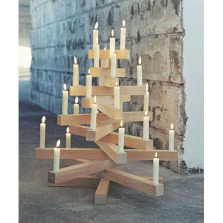 Velas na decoração de Natal, blog detalhes magicos