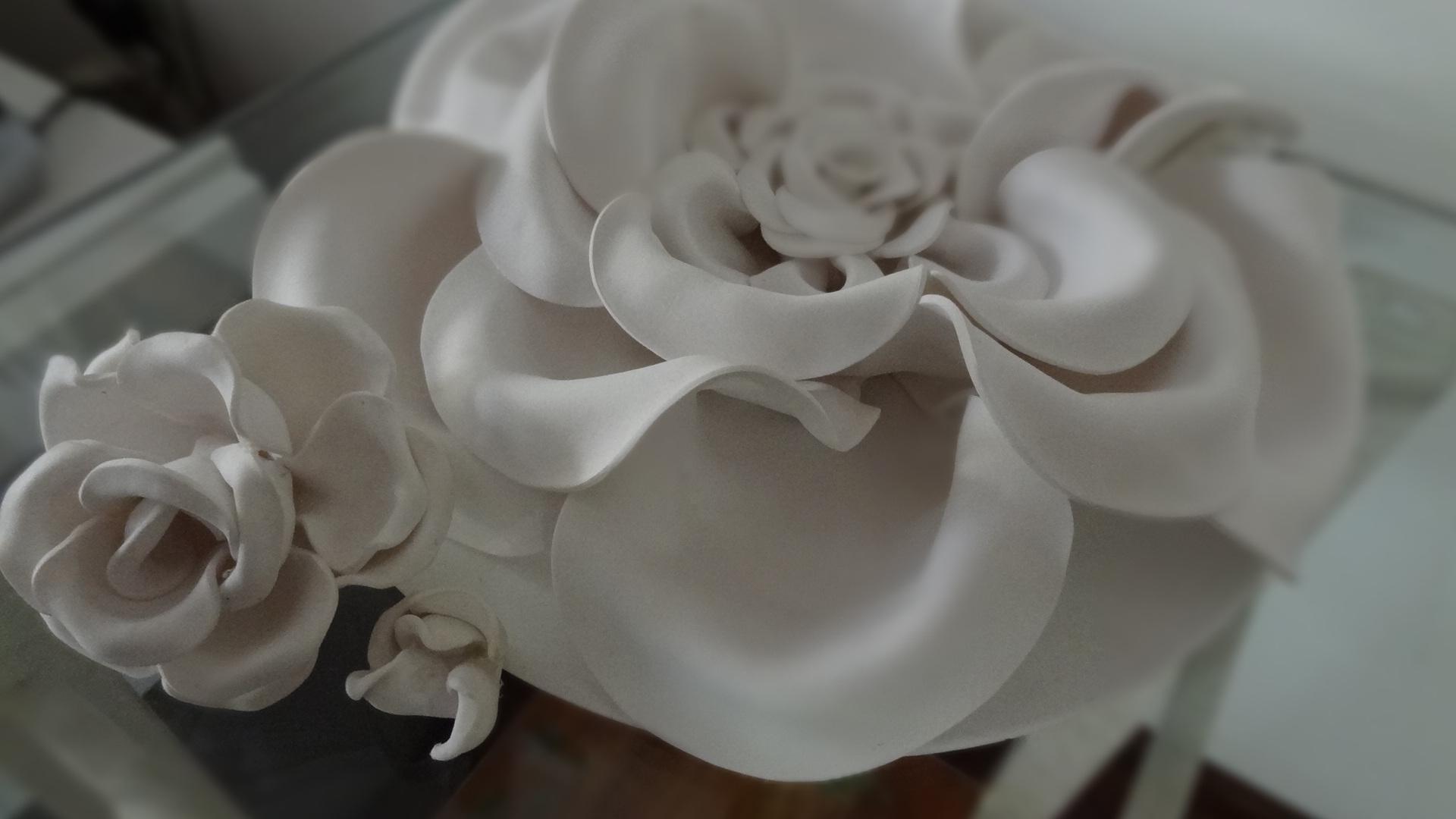 Flor De E V A Tamanho Grande Detalhes M Gicos -> Modelos De Papel De Parede Em Forma De Flores