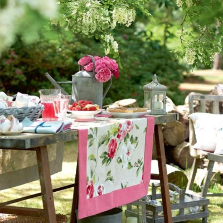 Mesas de verão no blog detalhes magicos