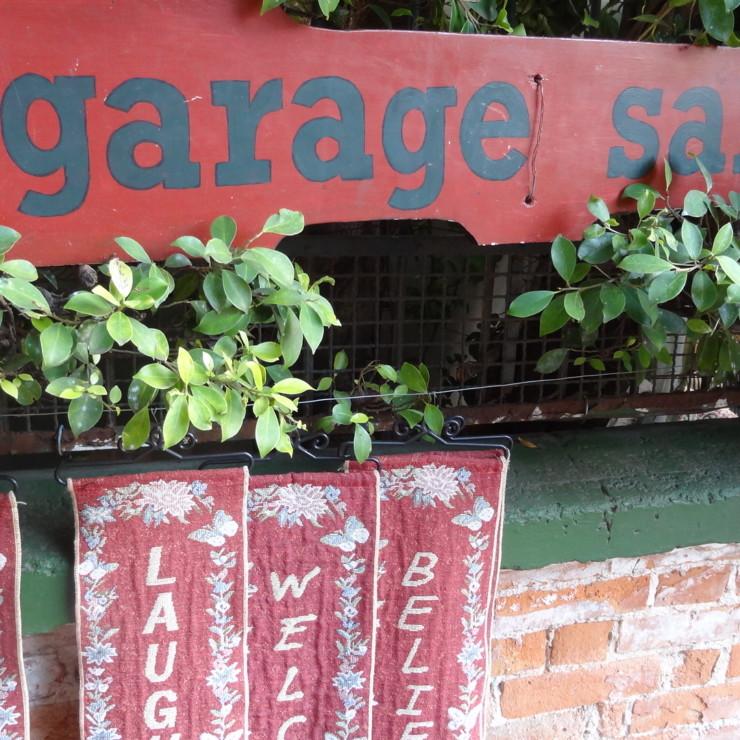 Garage sale na andre puente, blog detalhes magicos