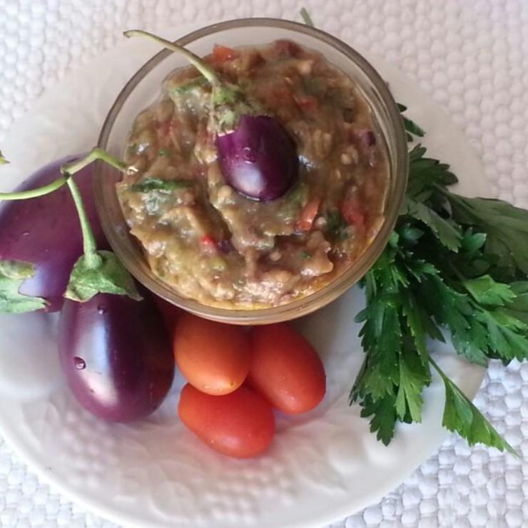 Caviar de berinjelas no blog detalhes magicos