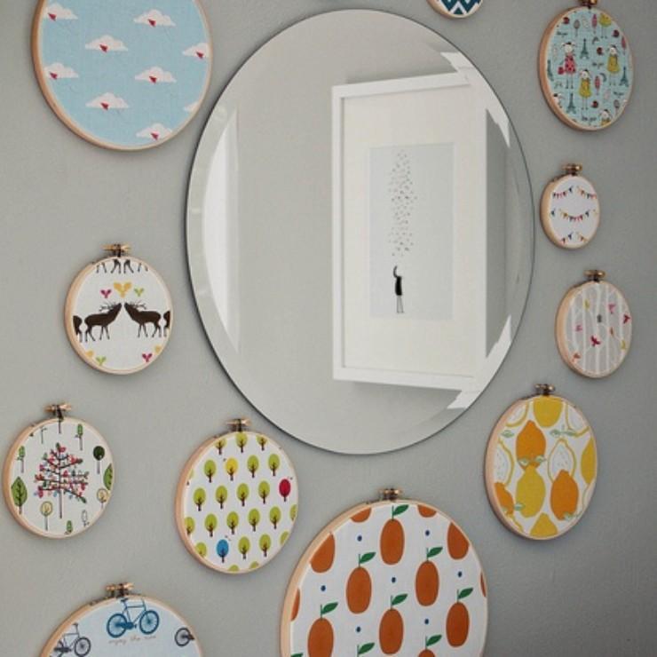 Bastidores nas paredes, blog Detalhes Magicos