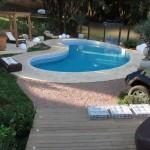 Churrasqueira com piscina no blog detalhes magicos