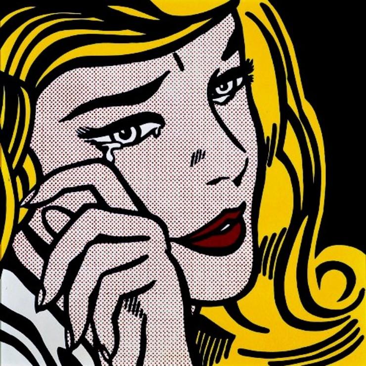 Pop Arte de Roy Lichtenstein no blog Detalhes Magicos