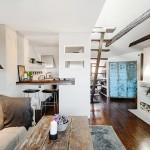 Apartamento pequeno, loft, no blog Detalhes Magicos