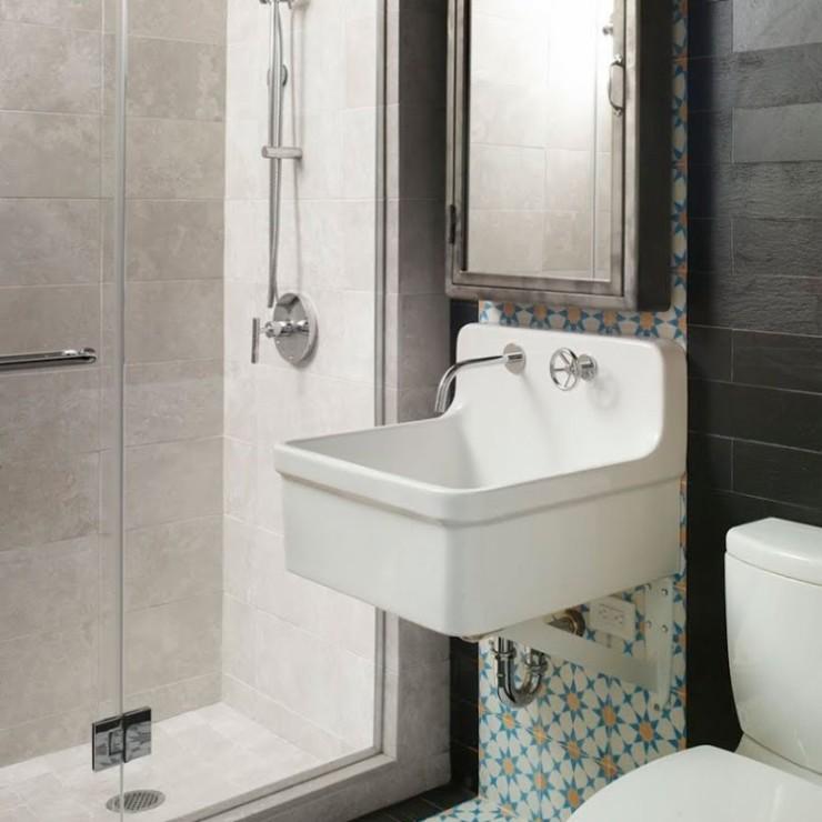 Banheiros pequenos e charmosos no blog Detalhes Magicos