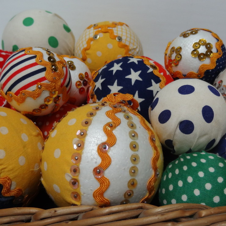 Bolas de Natal no blog detalhes magicos