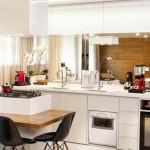 Espelho na cozinha, no blog Detalhes Magicos