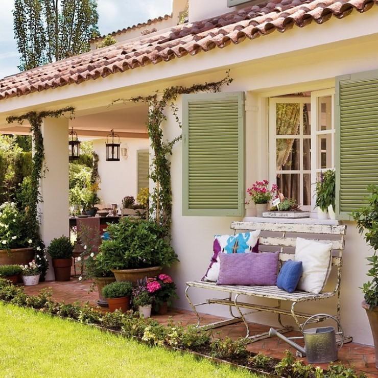 Casa em Madri no blog Detalhes Magicos