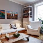 Apartamento escandinavo no blog Detalhes Magicos