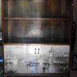 Antes e depois de um armario restaurado, no blog detalhes magicos