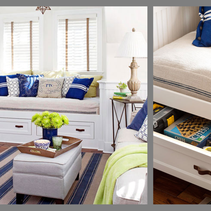 Apartamento pequeno e organizado no blog Detalhes Magicos