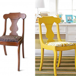 Antes e depois de cadeiras no blog Detalhes Magicos