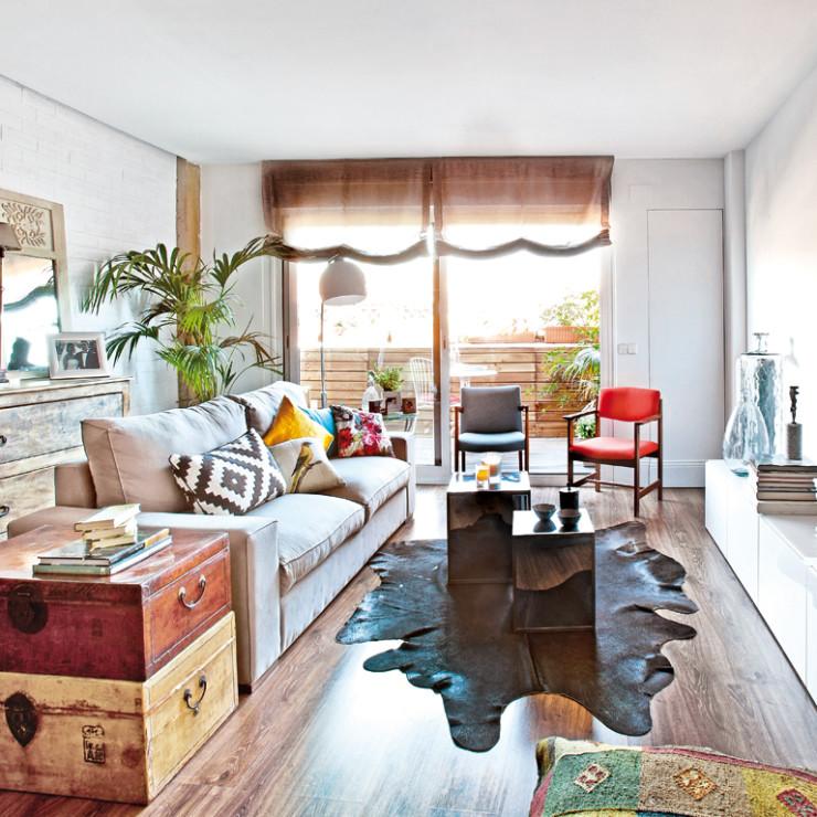 Apartamento inspirador no blog Detalhes Magicos