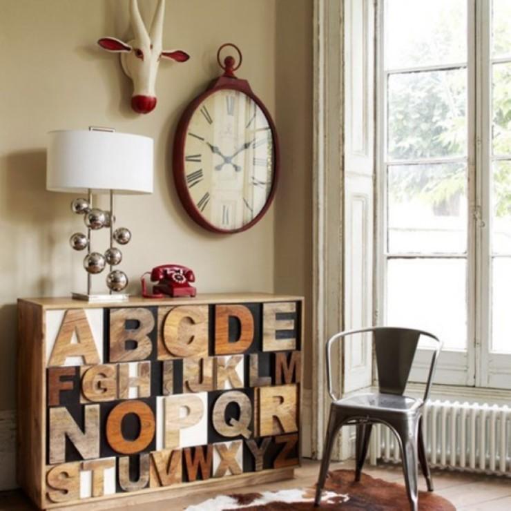 Letras na decoração, blog Detalhes Magicos