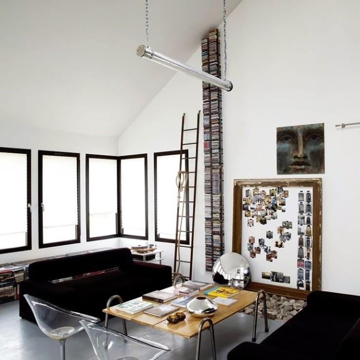 Apartamento em preto no blog Detalhes Magicos
