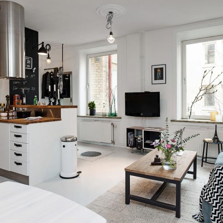 Apartamento em Gotemburgo no blog Detalhes Magicos