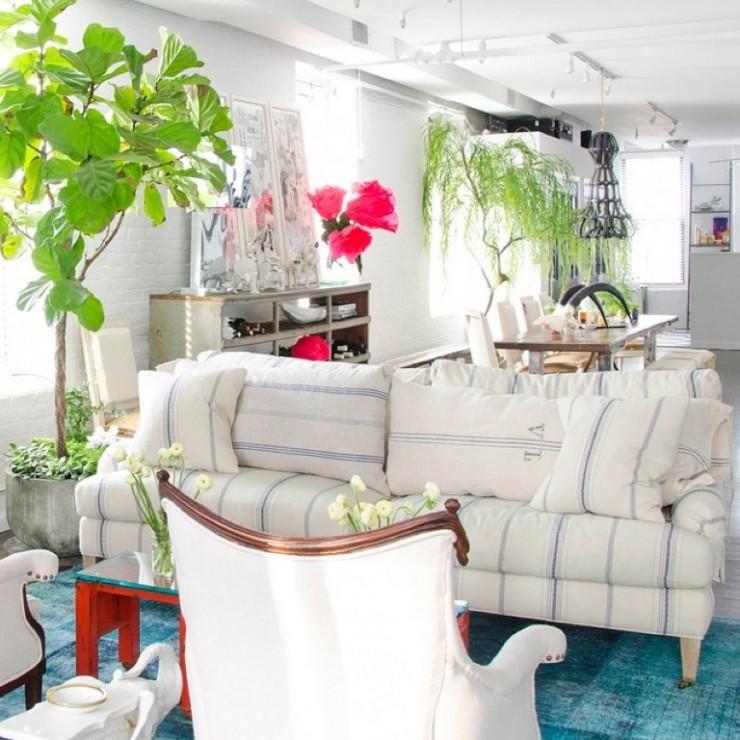 Apartamento de diretora de moda no blog Detalhes Magicos