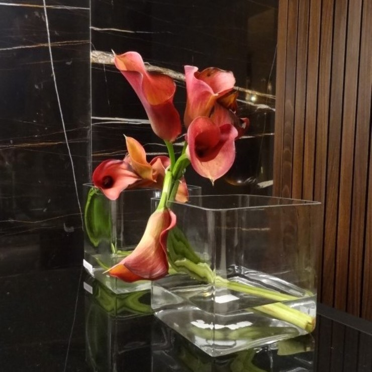 Flores-e-arranjos-com-verdes-em-casa