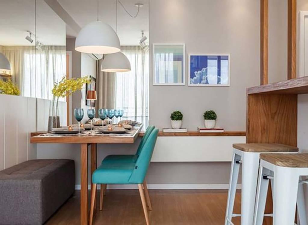 sala de jantar em apartamento pequeno detalhes m gicos