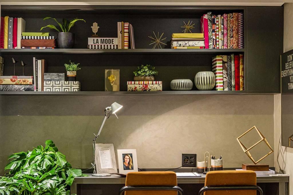 Detalhe do home-office